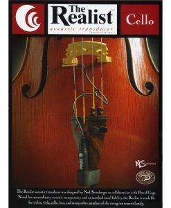 Realist Acoustic Cello Pickup 1/4 Plug