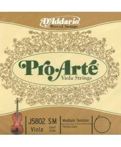 D'Addario Pro-Arte Viola String Set Medium (4/4)