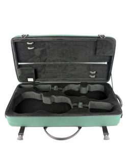 "Bam France 2006S Classic 16"" 3/8 (41.5 cm) Viola + Violin case - Green"
