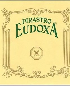 Pirastro Eudoxa Violin String Set - 4/4 size - Medium Gauge - Ball End E