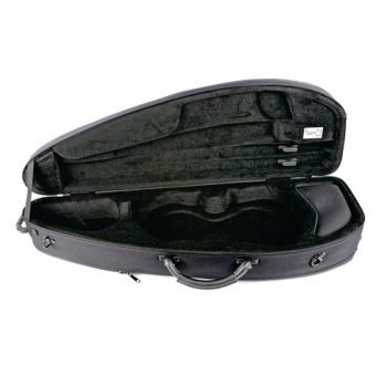 BAM France – Classic 5003S Shaped 4-4 Violin Case with Black Exterior_3