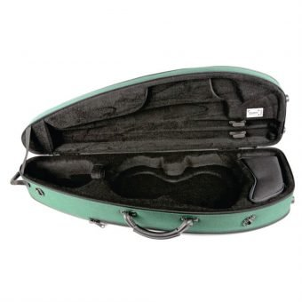 BAM France – Classic 5003S Shaped 4-4 Violin Case with Green Exterior_3