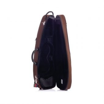 BAM France – Classic – St. Germain – Shaped 4-4 Violin Case with Chocolate Exterior SG5003S_3