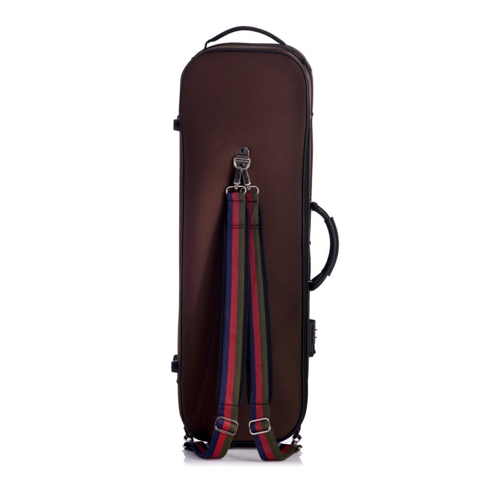 bam stylus sg5001s st germain 4 4 violin case with chocolate exterior and black interior. Black Bedroom Furniture Sets. Home Design Ideas