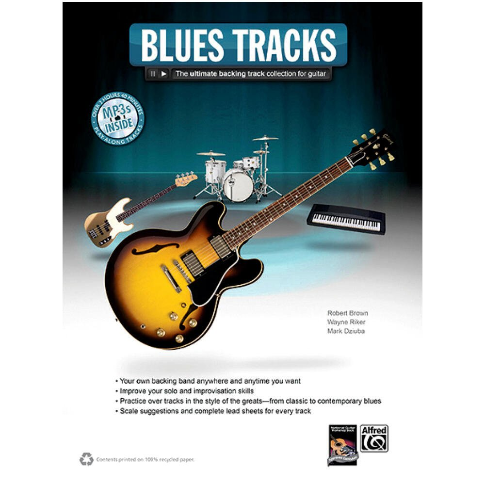 Blues Tracks The Ultimate Backing Track Collection For Guitar