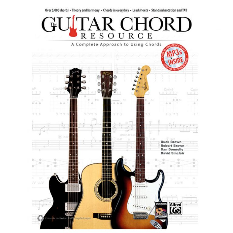 Guitar Chord Resource A Complete Approach To Using Chords Book Cd