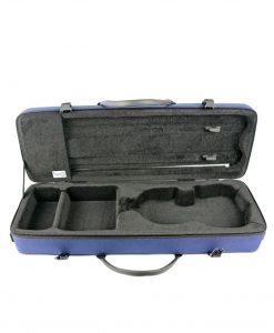 BAM France Classic 2002S 4/4 Violin Case with Navy Blue Exterior