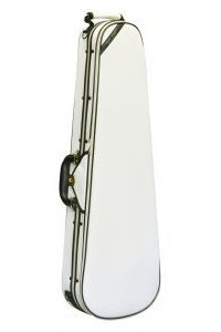 Super Light Violin Case Shaped Ivory