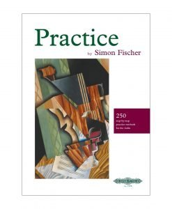 Practice by Simon Fischer Violin Edition Peters 7578