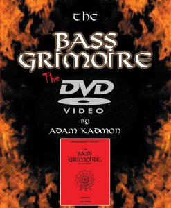 Adam Kadmon: The Bass Grimoire - Scales and Modes - DVD - Carl Fischer