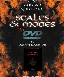 Adam Kadmon: Guitar Grimoire - Scales and Modes - DVD - Carl Fischer