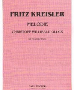 Gluck, Christoph Willibald - Melodie from Orphee et Eurydice - Violin and Piano - Carl Fischer