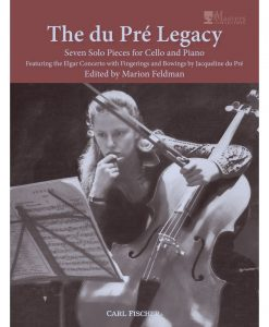 The du Pré Legacy - Seven Solo Pieces for Cello and Piano - Pré, Saint-Saëns, Bach, et al. - Marion Feldman - Cello & Piano - Carl Fischer