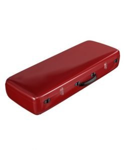Accord Oblong Violin Case Solid Red