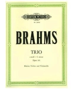 Brahms Trio in C Minor Op 101 Edition Peters