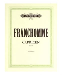 Franchomme 12 Caprices Op 7 EP3469 Edition Peters