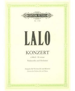 Lalo Concerto in D Minor Edition Peters