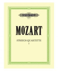 Mozart String Quartets EP16 Edition Peters
