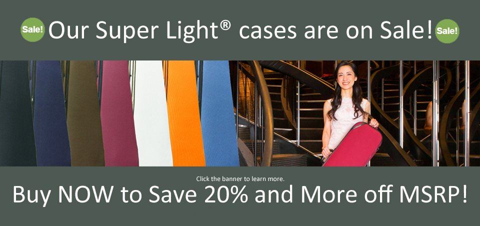 Our Super Light Cases are on Sale NOW!!