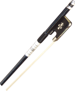 Evergreen Workshop 300 Series Carbon Graphite Cello Bow Blue