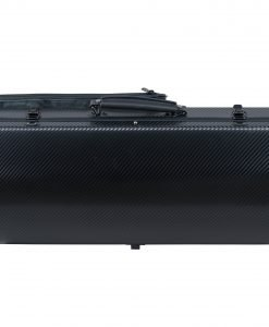 Otto Musica Mirage Black Oblong CarbonPoly 4/4 Violin Case