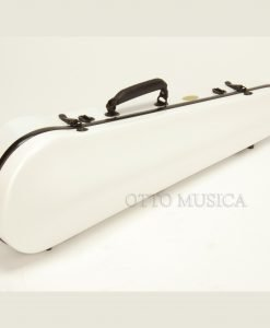 Otto Musica Mirage White Shaped Violin Case